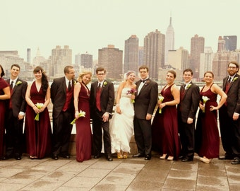 MARSALA Infinity Convertible Bridesmaid Dress 1000 fabrics Made to precise size & length Handmade in the USA wine dusty blue rose taupe gold