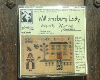 Williamsburg Lady