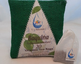 Baquiña Tea, Vaquiña Tea (Lepianthes peltatum) 20 Servings