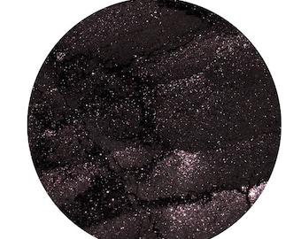 Stormy Night Iridescent Dark Purple Mineral Makeup Loose Eye Shadow
