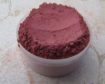 Wine Mineral Blush Loose Mineral Makeup Organic Makeup Cheek Colors