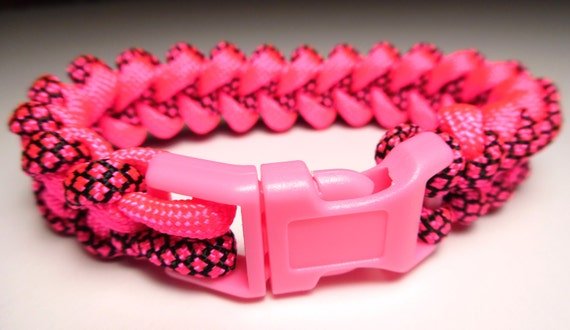 hot sale NIKE Swoose Paracord Bracelet Hot Pink Edition by