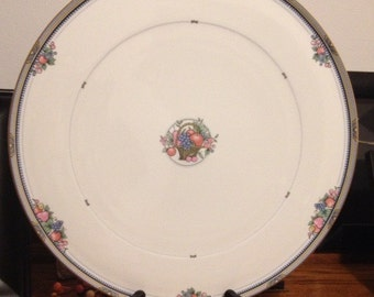 Christopher Stuart Fruit Basket Bone China Cake Plate
