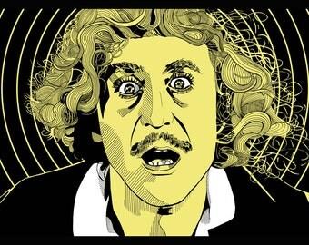 Gene Wilder Young Frankenstein Print