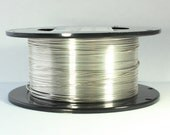 26 Dead Soft, Sterling Silver Wire, 26 gauge Wire, Dead Soft Round Wire, 925 Sterling