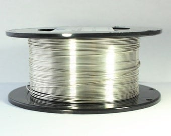 26 Dead Soft, Sterling Silver Wire, 26 gauge Wire, Dead Soft Round Wire, 925 Sterling