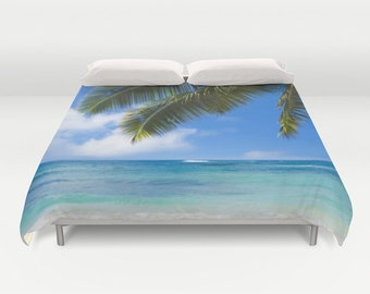 popular items for housse de couette plage on etsy. Black Bedroom Furniture Sets. Home Design Ideas