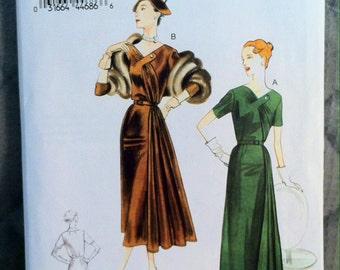 1951 Original Design, Vogue 8850, Bust 42, Dress