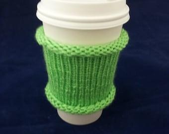 Reusable coffee cup cozy