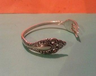 1881 ROGERS ONEIDA Fork silver Bracelet!