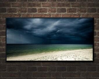 Alabama Photography, Dauphin Island Storm, Southern Photography, Sky and Weather, Beach Storm Photography