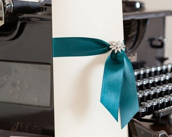 Orpheus Boxed Invitations, Invites, Elegant Invites, Wedding Stationery, Party Invitations, Personalised Invitations, Stylish Invitations