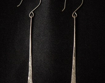 Unique, hand crafted Sterling silver earrings