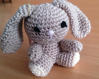Bunny Stuffed Toy Crocheted Amigurumi Bunny