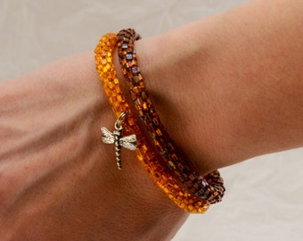 Jumeaux Tangerine / Ambre , Dragonfly