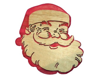 Popular items for cut out santa on Etsy