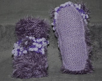 slippers / knitted slippers / women slippers