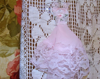 Shabby Chic Prom Dress decoration/Christmas