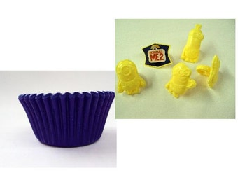 Despicable Me Rings with Blue Baking Cups