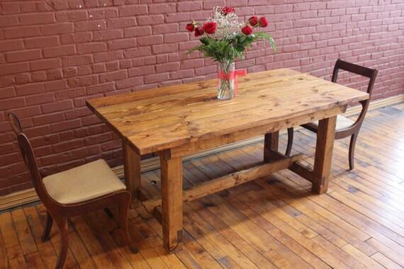 custom built foldable farmhouse dining room table by madeinlovenyc