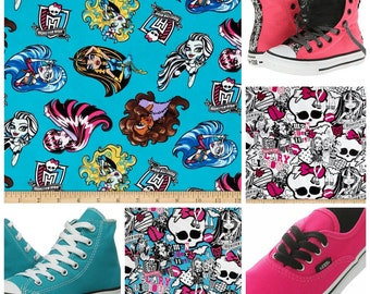 Monster High Converse or vans