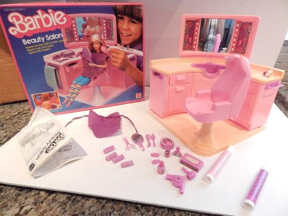 Barbie Beauty Salon Mattel 1983 4839