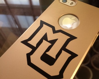 Marquette University Logo Phone Decal
