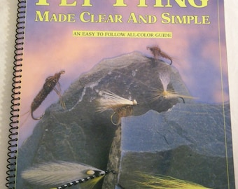 """book """"FLY TYING made clear and simple"""" 1992"""