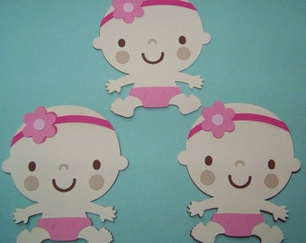Baby girl die cuts