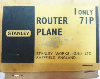 Stanley Router Plane 71P