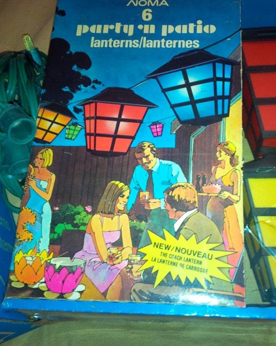 ... Vintage Patio Lanterns  6 Lights. ◅