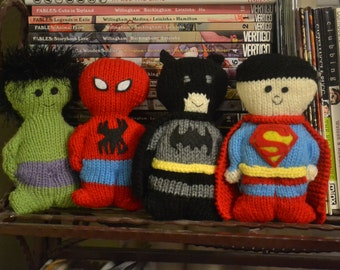Knit Superhero Chubby Dolls