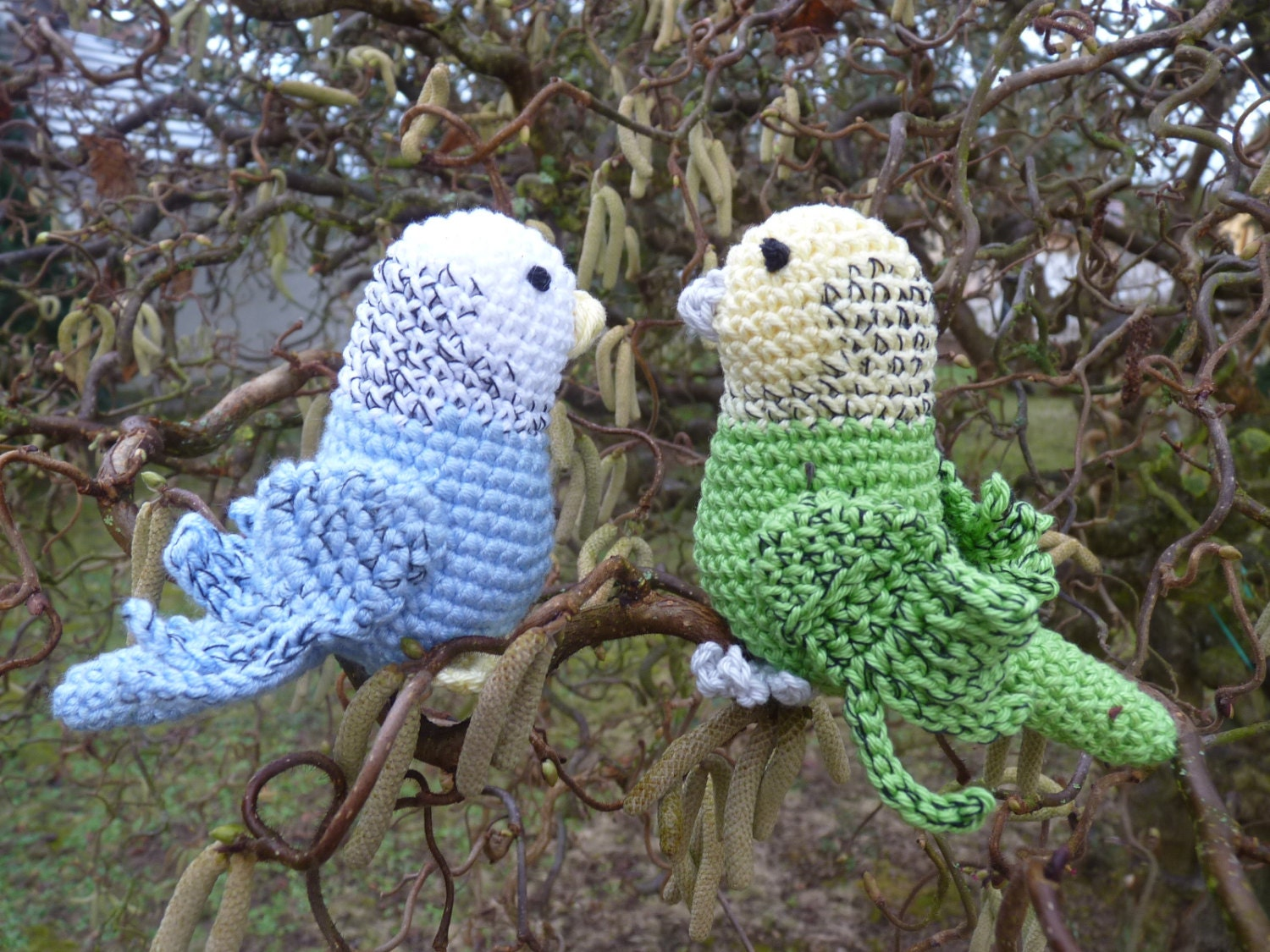 crochet parakeet budgerigar budgie blue parakeet turquoise. Black Bedroom Furniture Sets. Home Design Ideas