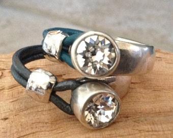 Swarovski Ring Cuff!!  FREE DOMESTIC SHIPPING!