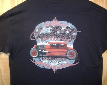 Southside Hot Rod Shop Rat Rod T-shirt 100% Cotton  S-XXXL