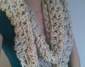PDF Extra Long and Chunky Infinity Scarf Pattern