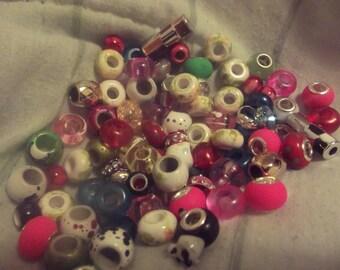 Mixed European Beads-pandora style
