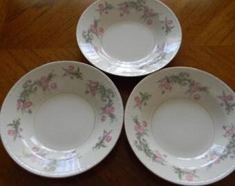 Homer Laughlin Eggshell Georgian Soup Bowls - Set of 8