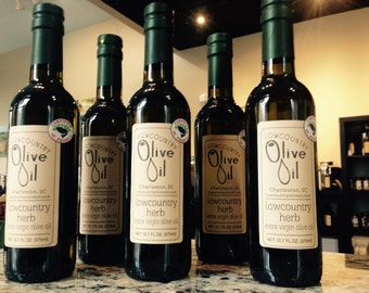 Lowcountry Herb Infused Olive Oil