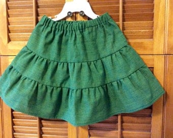 Toddlers 3 tier skirt
