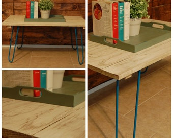 Hairpin Legs Coffee Tables - 16""