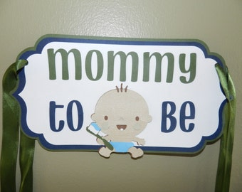 mommy to be chair sign baby shower chair sign boy baby shower chair