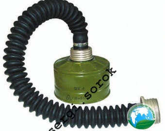 Russian Military Gas Mask Hose Connector 40mm with filter  GP-5/GP-7/ GP-7VM/Ppm-88/Gp-9