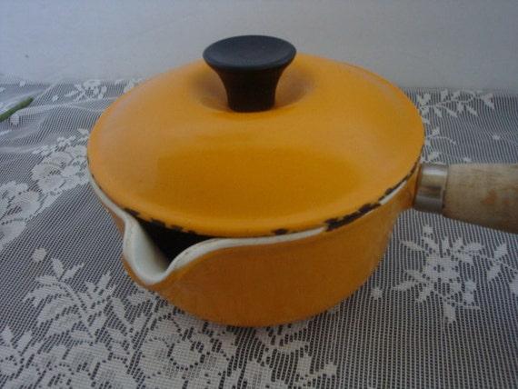 vintage le creuset sauce pan eBay