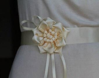 Bridal belt of festive ladies belt - garter belt - waist belt