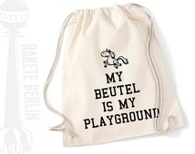 Gym bags ' my bag is my playground'