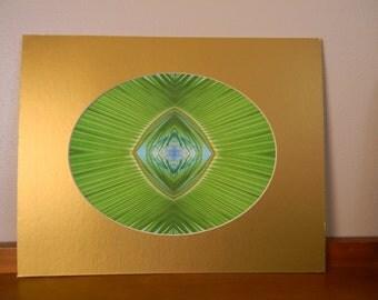 Sago Palm Leaf Art Print