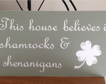 St. Patricks Day sign