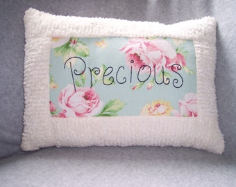 Cottage Chic Chenille Pillow