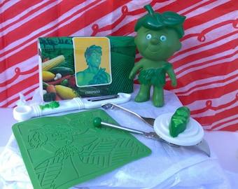 Vintage Green Giant Toys